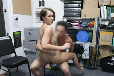 Natalie Porkman - bolti tolvaj baszás