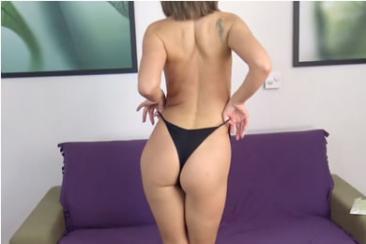 Fitness csaj pornós casting baszása