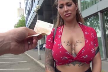 Heidi van Horny - casting anális szex
