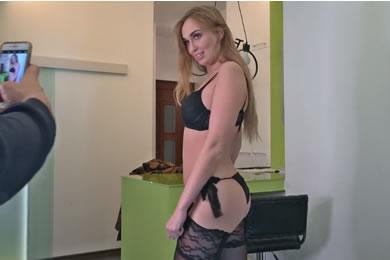 Ingyen pornóvideók - casting szex